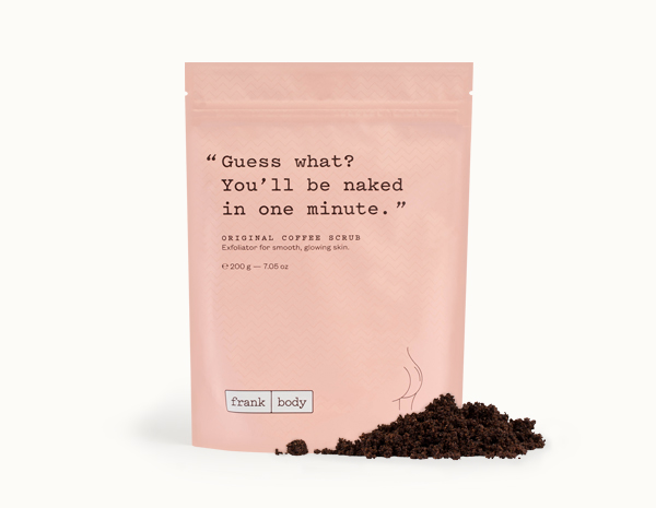 frank body original coffee scrub