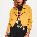 missguided mustard jacket